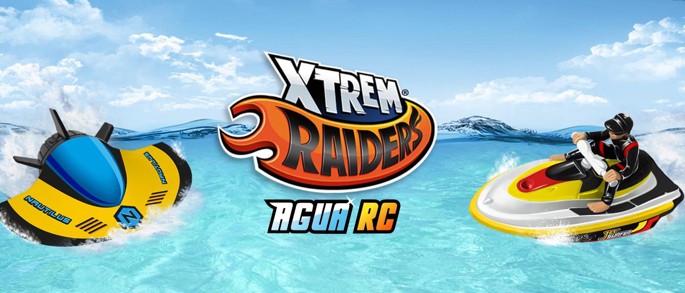 Xtrem Raiders Agua