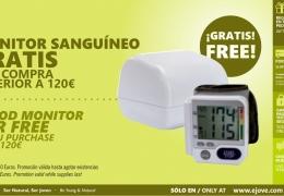 Monitor Sanguineo de Regalo