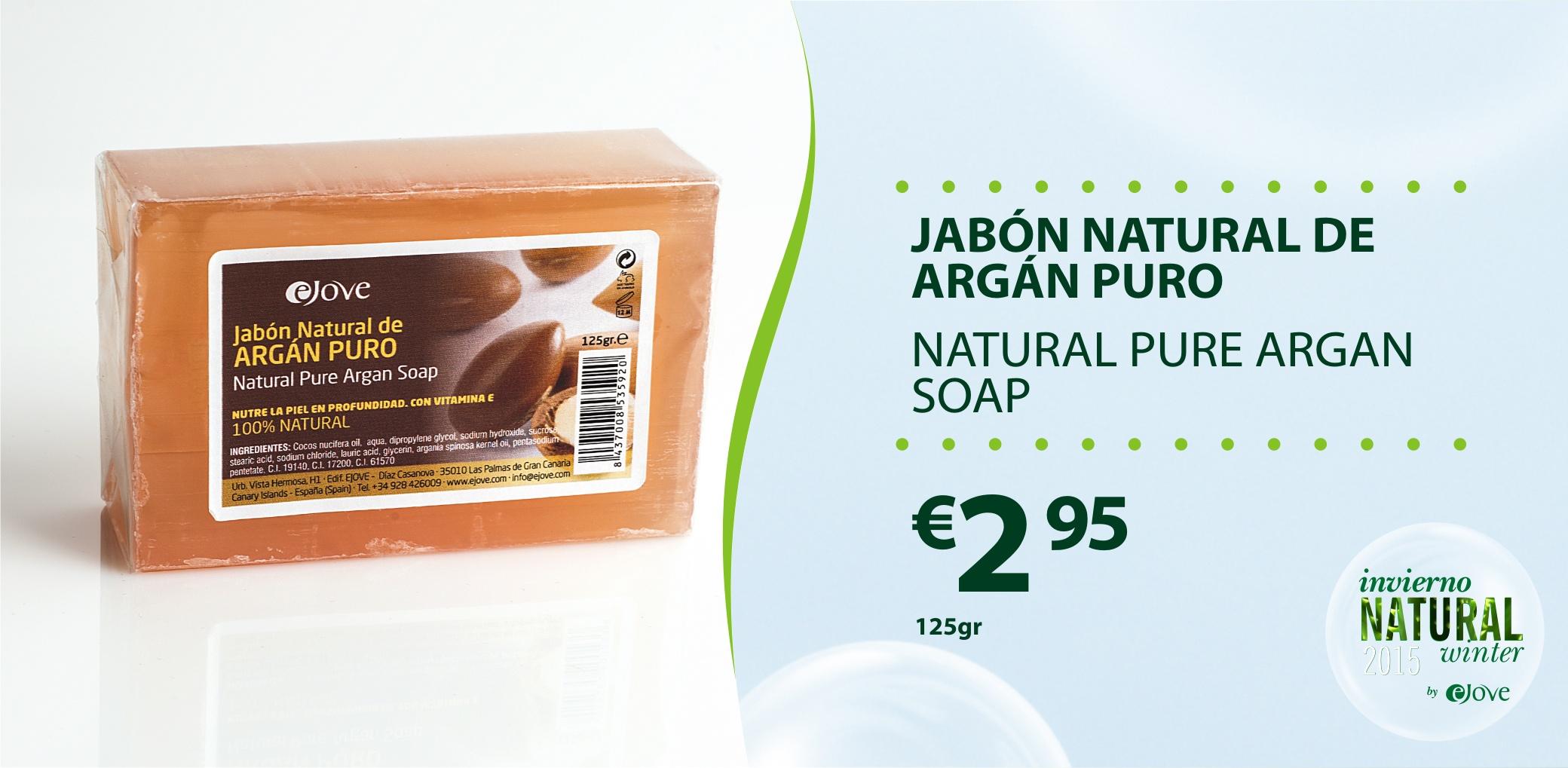 Jabon Argan Puro