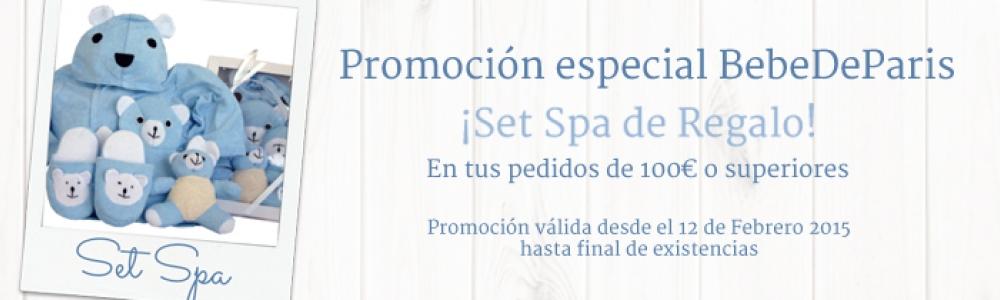Promo Set Spa 2015