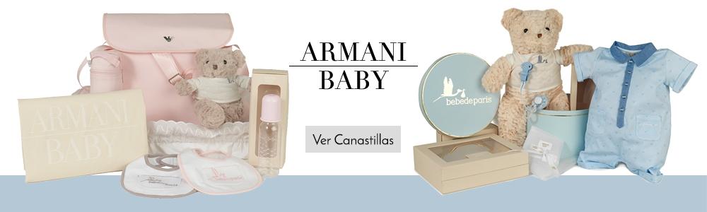Canastillas Armani Baby Nueva Colección 2016