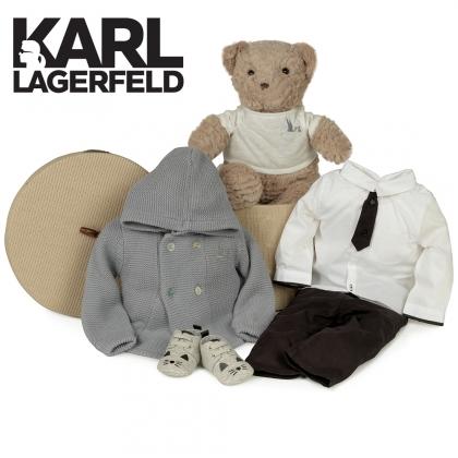Canastilla Bebé Karl Lagerfeld