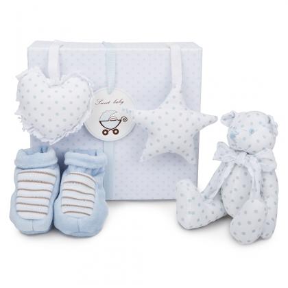 Teddy Bear Baby Gift Set