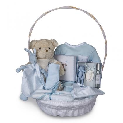 Vintage Complete Baby Gift Basket