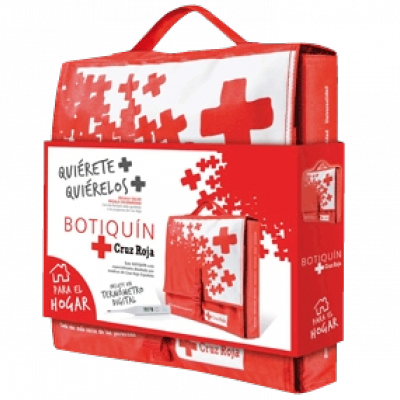 Venda compresiva con apósito absorbente 6 cm x 10 cm (caja box SANS 16 uds)