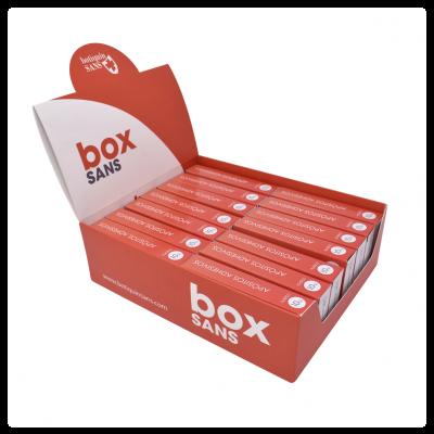 10 Apósitos adhesivos de plástico 19 mm x 72 mm (caja 14 uds)