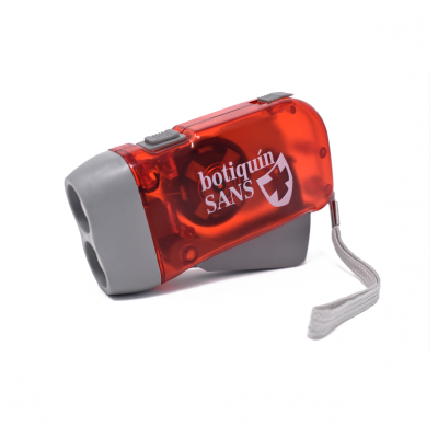 Linterna doble led DINAMO (caja 12 uds)