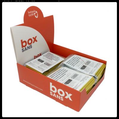 Manta isotérmica ORO/PLATA (caja 12 uds)