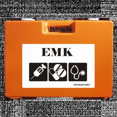 Maletín médico de emergencia EMK