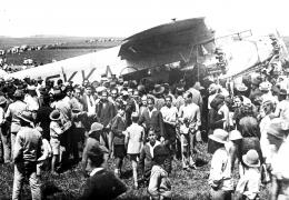 """CONFERENCIA """"El primer vuelo de la península a Canarias"""""""