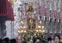 Valencia celebra la festividad de la Virgen de los Desamparados