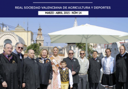 LA GACETA DEL CASINO DE AGRICULTURA - Nº14 - MARZO-ABRIL 2015
