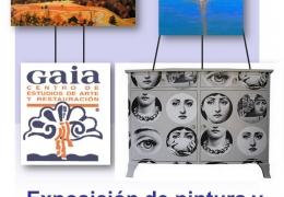Exposición de pintura y muebles customizados de GAIA en El Casino de Agricultura