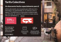 NUEVAS VENTAJAS PARA EL SOCIO | Acuerdo entre Paradores de Turismo de España y la FECCC