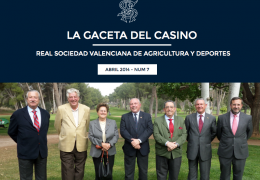 La Gaceta del Casino de Agricultura - Nº7 - ABRIL 2014