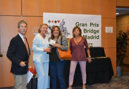 BRIDGE Asistencia a torneo GRAN PRIX BRIDGE MADRID