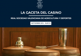 La Gaceta del Casino de Agricultura - Nº10 - SEPTIEMBRE 2014