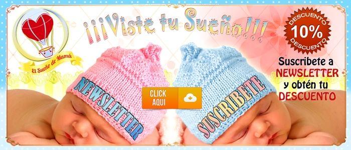 Haz click y obtén un 10% de descuento en El Sueño de Mamá tienda online