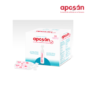 Aposan Suero Fisiologico Nasal Monodosis 5 Ml 30 U