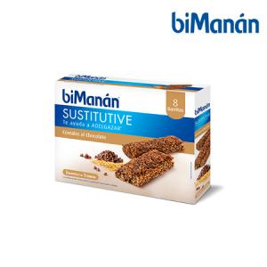 Bimanán Barritas Choco y Cereal 8 Uds
