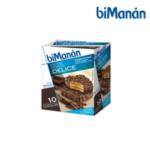 Bimanán Bombón Chocolate 10 Uds