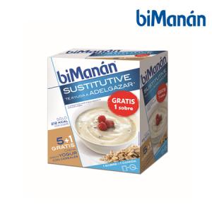 Bimanán Crema Yogur y Cereal 6 Sobres