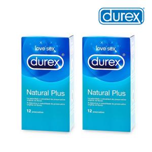 Duplo Durex Natural Plus 12UDS
