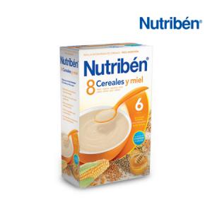 Nutribén 8 Cereales y Miel 600G