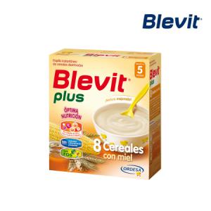 Blevit Plus 8 Cereales y Miel 600G
