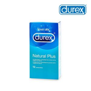 Durex Natural Plus 12UDS