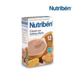 Nutribén Cacao con Galletas 600G