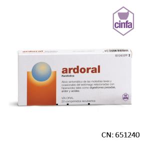 Ardoral 75 Mg 20 Comprimidos Recubiertos