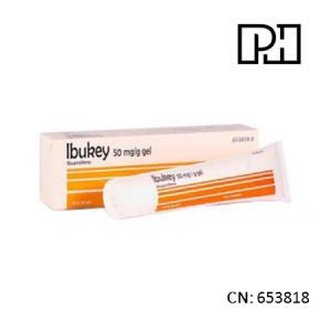 Ibukey 50 Mg/G Gel Topico 60 G