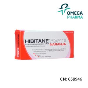 Hibitane Forte 20 Comprimidos Para Chupar Naranja
