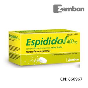 Espididol 400 Mg 12 Comprimidos Efervescentes