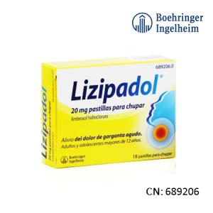 Lizipadol 20 Mg 20 Pastillas Para Chupar