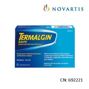 Termalgin Gripe 10 Sobres