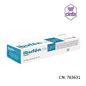 Ibufen Topico 50 Mg/G Gel Topico 50 G