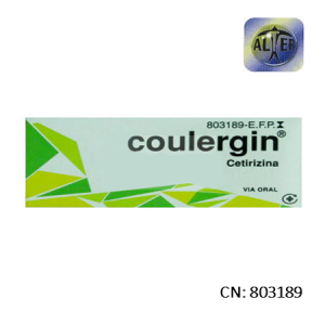 Coulergin 10 Mg 7 Comprimidos Recubiertos