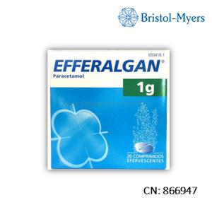 Efferalgan 1 G 40 Comprimidos Efervescentes