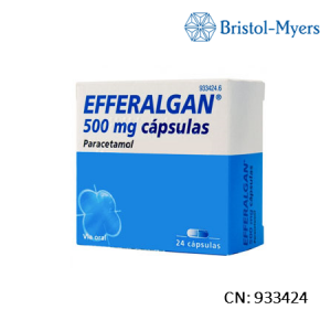 Efferalgan 500 Mg 24 Capsulas