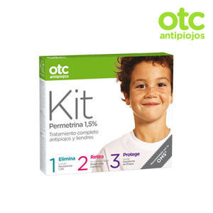 OTC Tratamiento Completo Antipiojos con Permetrina