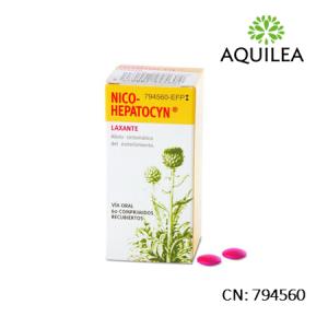 Nico Hepatocyn 60 Comprimidos Recubiertos
