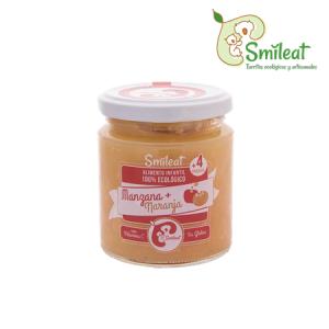 Smileat Potito Ecologico de Manzana y Naranja 230g