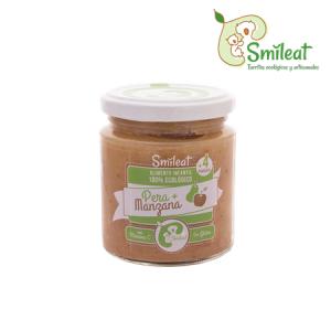 Smileat Potito Ecologico de Pera y Manzana 230g