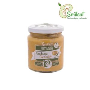 Smileat Potito Ecologico de Verduras Variadas 230g