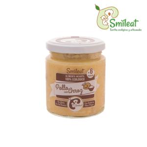 Smileat Potito Ecologico de Pollo con Arroz 230g