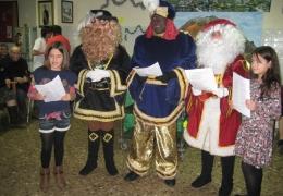 Navidad - Llegada de los pajes reales