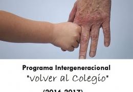 Programa Intergeneracional VOLVER AL COLEGIO