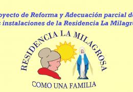 Reforma en las instalaciones de la Residencia La Milagrosa